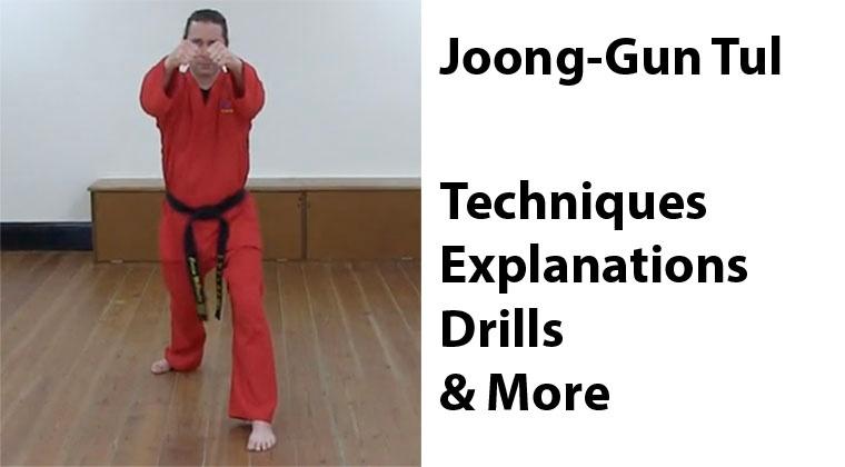 Joong-Gun Tul: Pattern Tutorial and Learning Drills