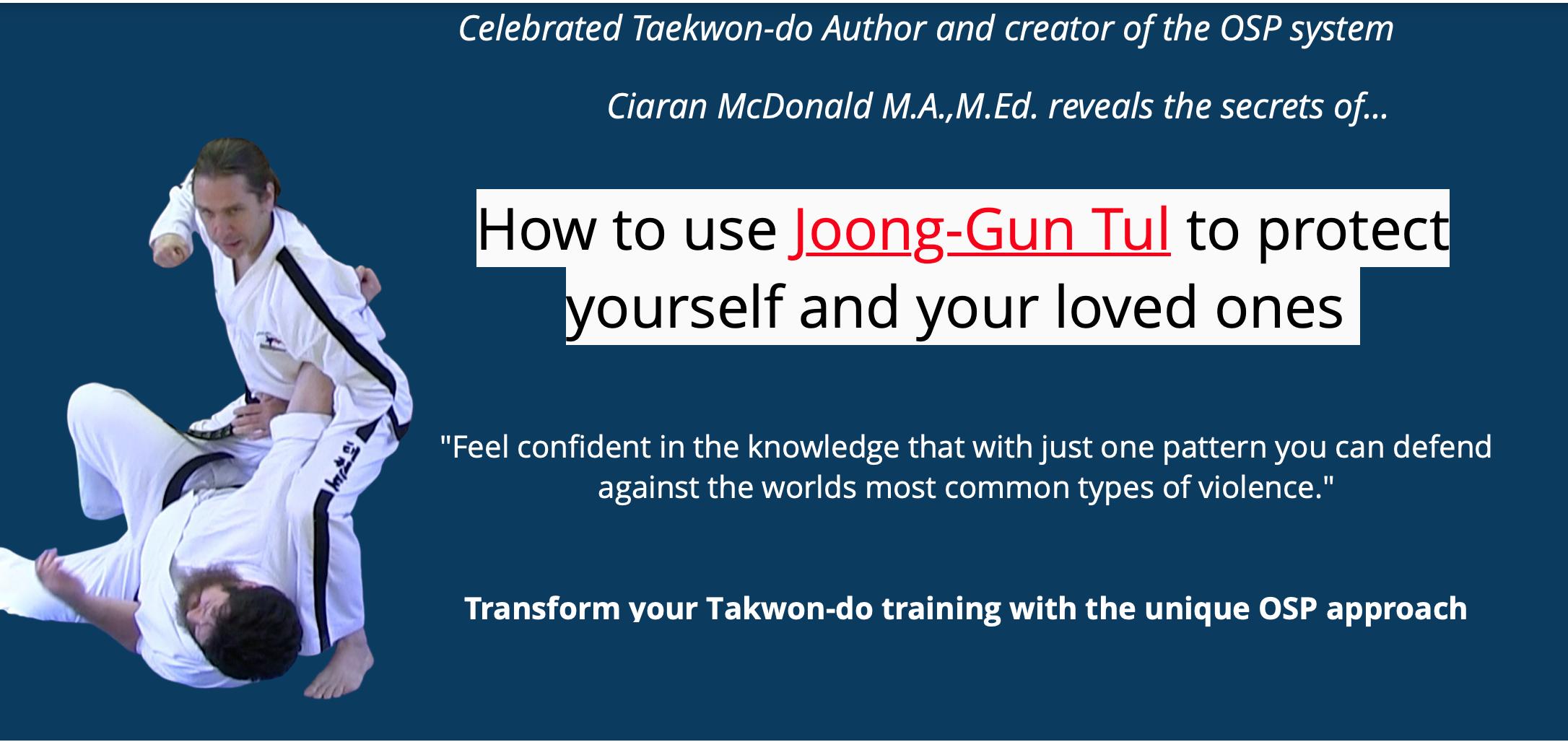 Understanding Joong-Gun Tul: Applications and Drills