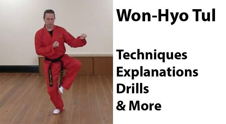 Won-Hyo Tul: Pattern Tutorial & Learning Drills