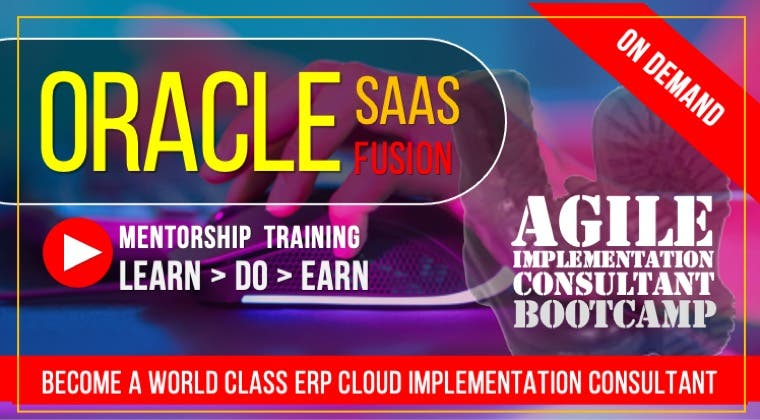 Agile Consultant: ERP Cloud Bootcamp : Videos Only