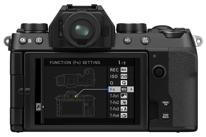 x-s10 button setup