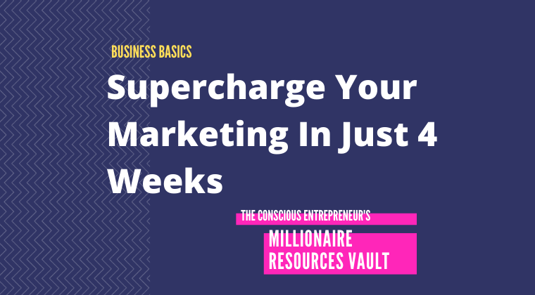Supercharge Your Marketing For Less Stress, More Clients, And More Cash In Just 4 Weeks (Fast Track Series)
