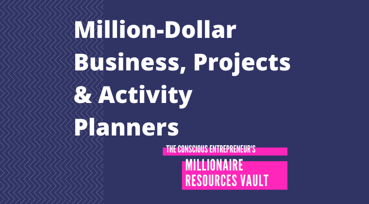 Million-Dollar Business, Projects & Activity Planners