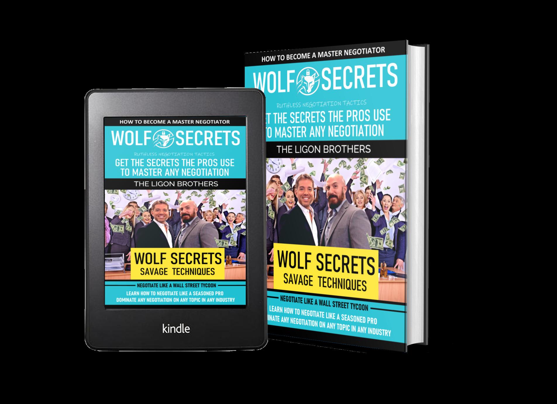 Wolf Secrets Book - Master Negotiations