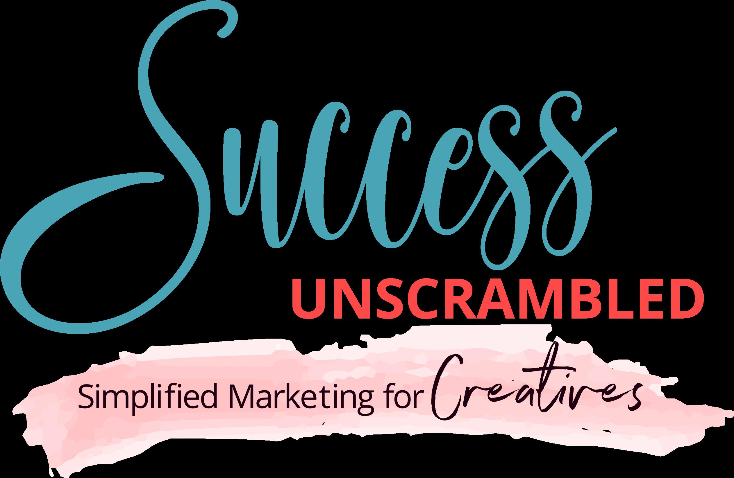 Success Unscrambled