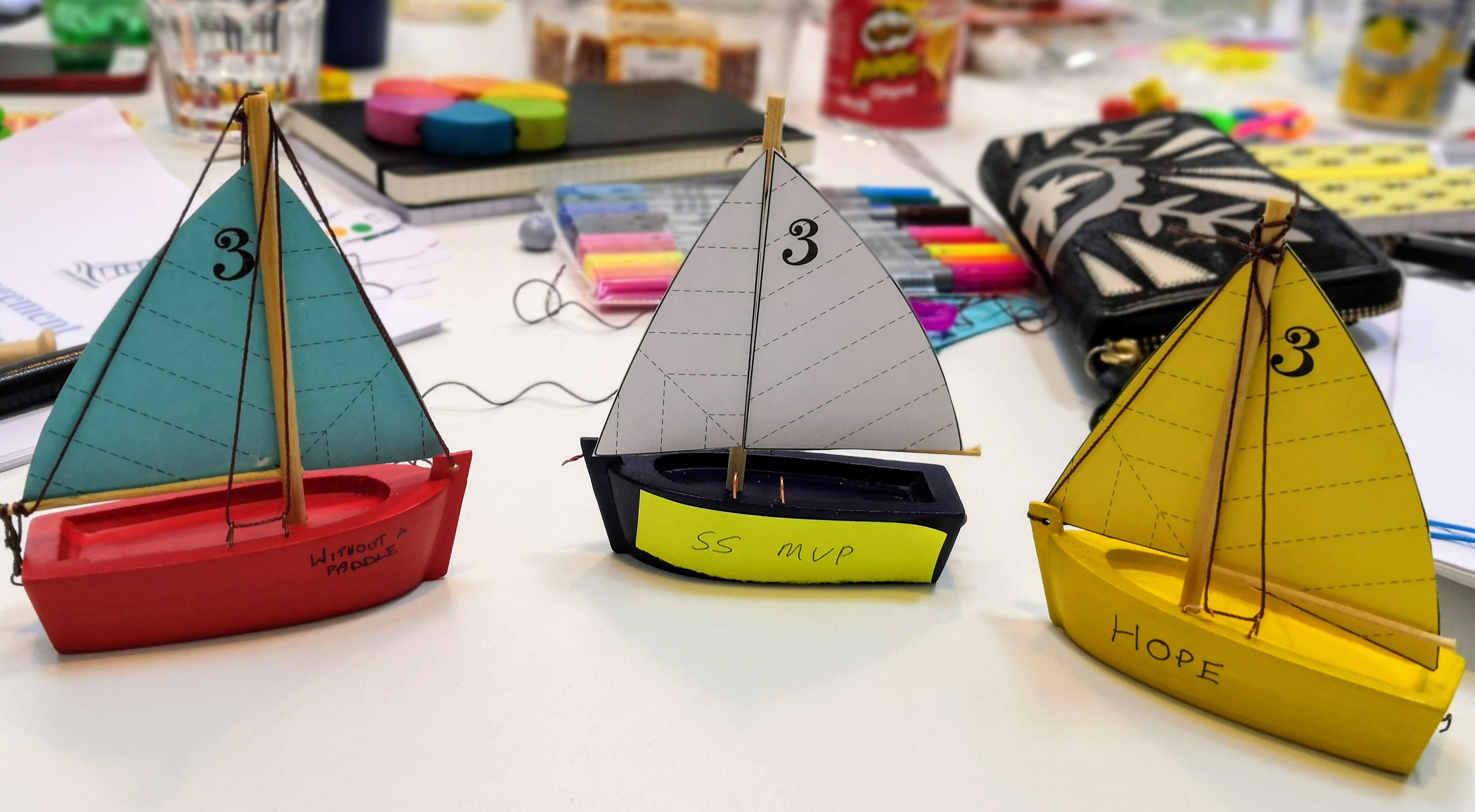 Captain of your own boat activity from Nikie Forster @ Curious Lighthouse Learning Consultancy Ltd.