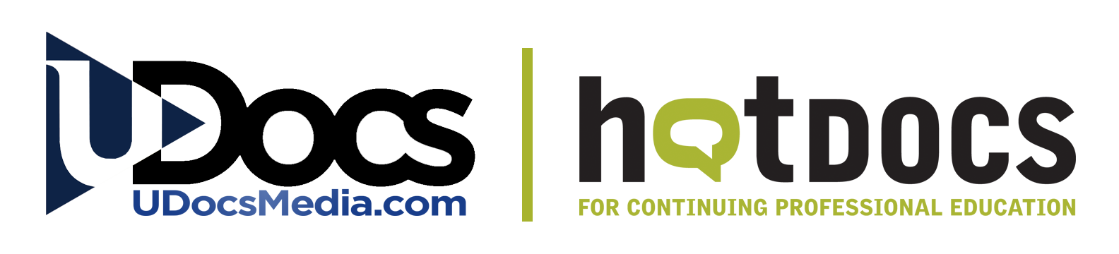 UDocs and HotDocs Logos together