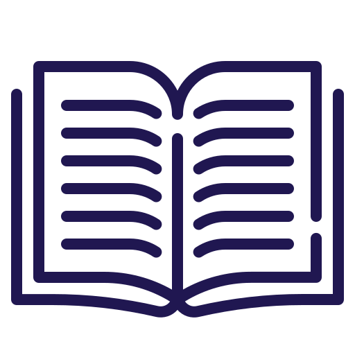 Icon of a book.