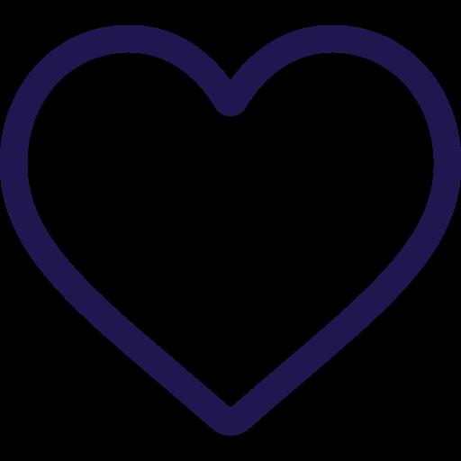 Icon in a heart shape.