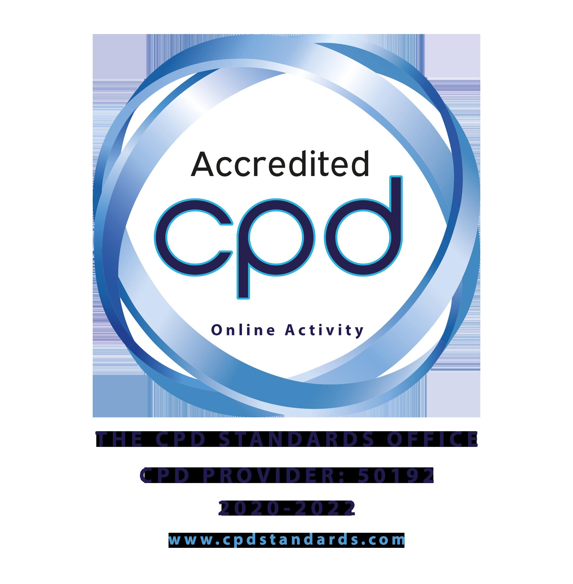 CPD Accreditation in Progress