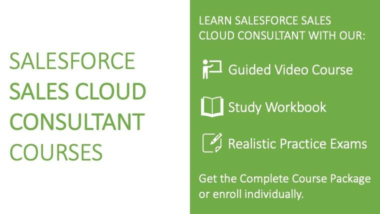 Salesforce Sales Cloud Consultant