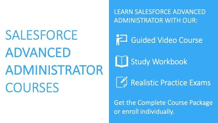 Salesforce Advanced Administrator
