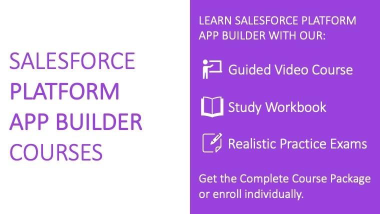 Salesforce Platform App Builder