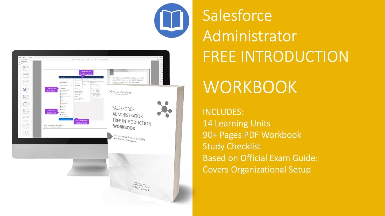 Salesforce Administrator Certification PDF Workbook