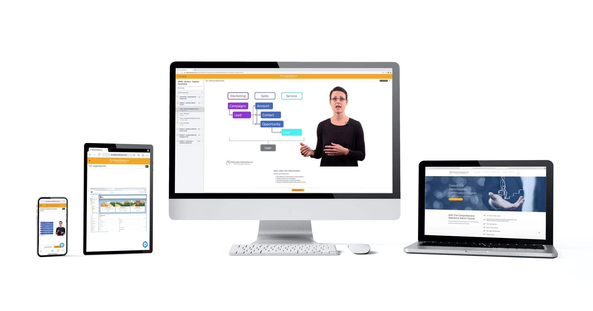 Learn Salesforce on All Devices