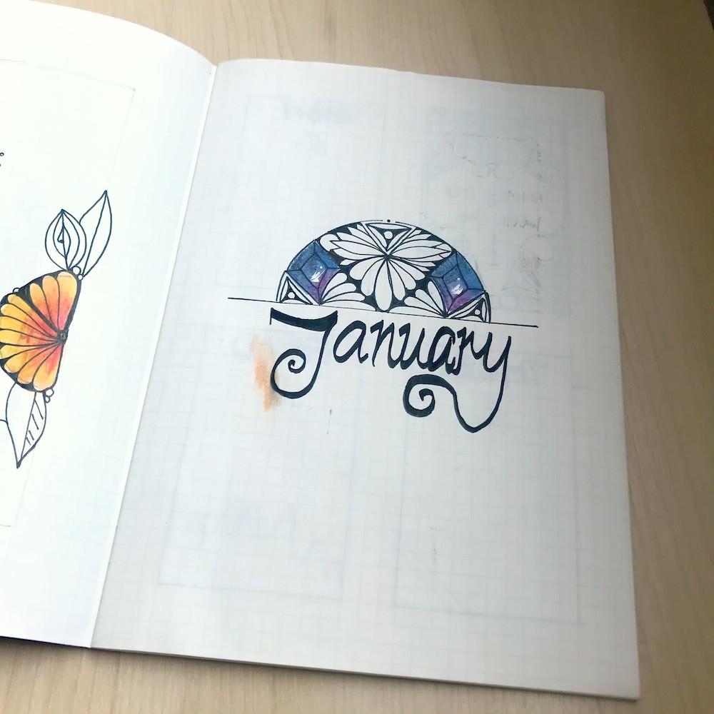 Zesty ZenBuJos Monthly 02