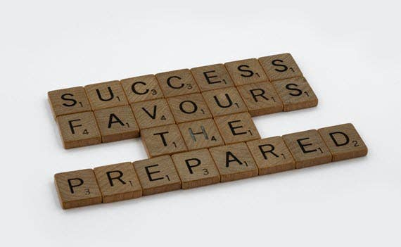 Success Favours the Prepared - Gameplan