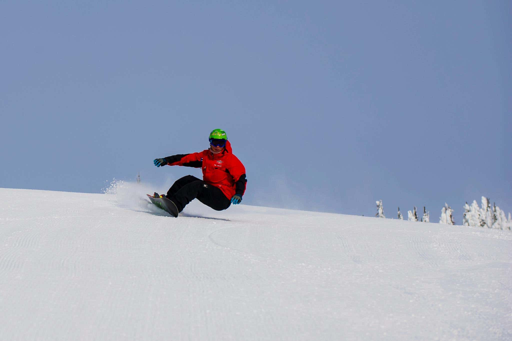 online snowboard course, learn to snowboard, snowboard fitness, how to snowboard