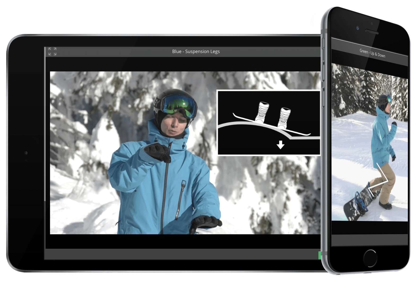 Online snowboard lessons, online snowboard school, learn to snowboard online