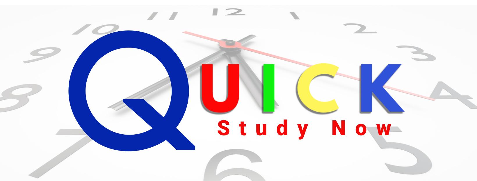 Quick Study Now