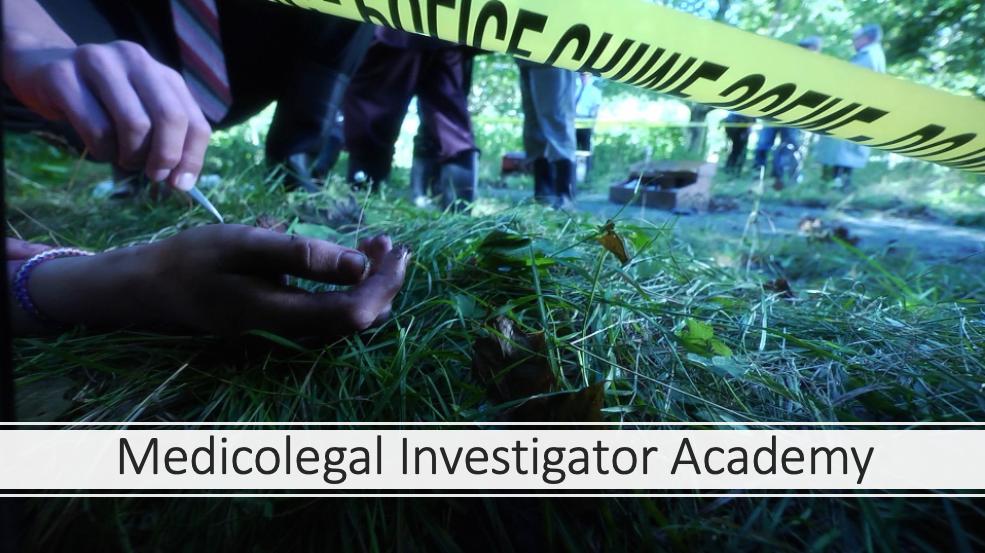 Medicolegal Investigator Academy