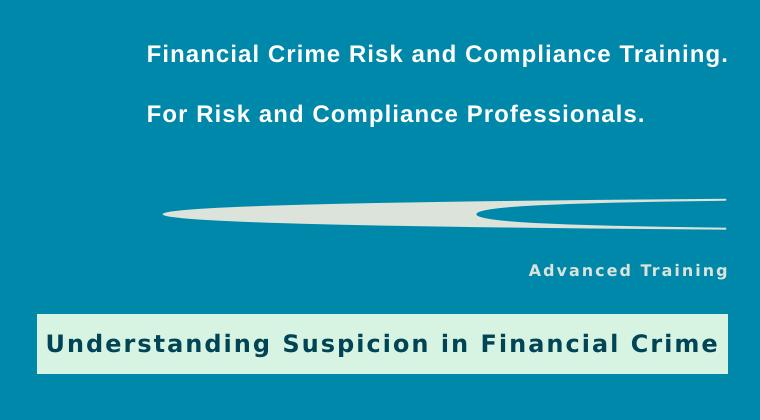 Understanding Suspicion in Financial Crime