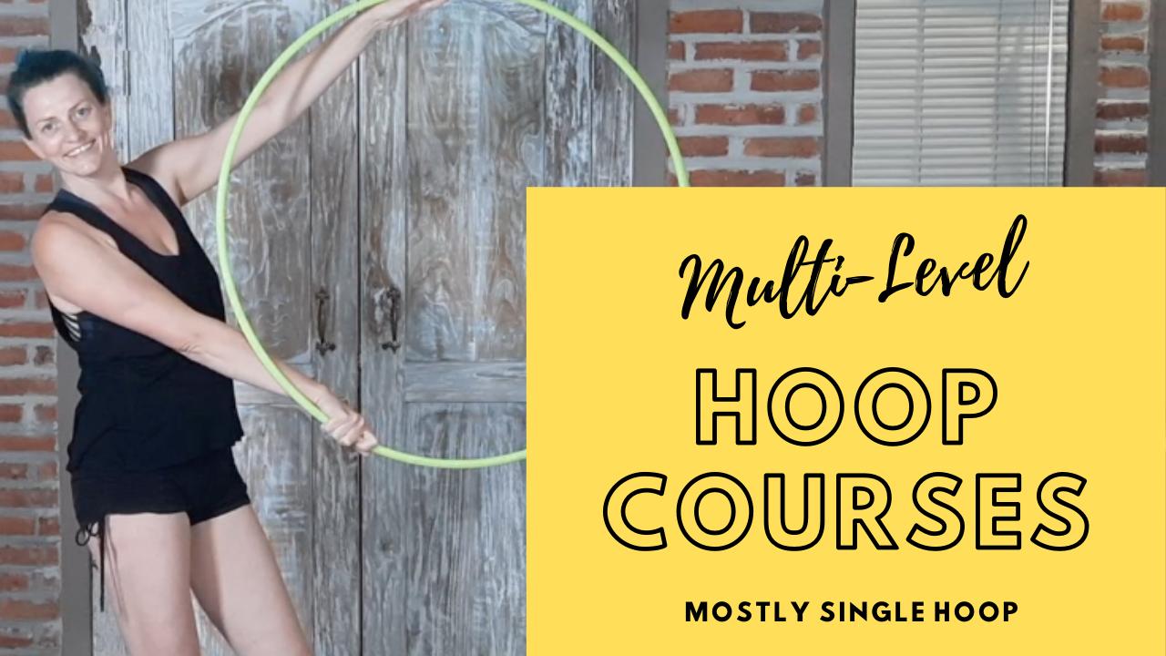 Multi-Level Hoop Courses (mostly single hoop)