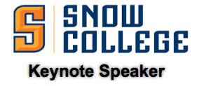 Snow College keynote speaker
