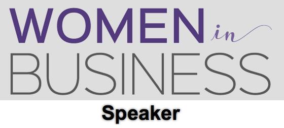 Women in Business speaker