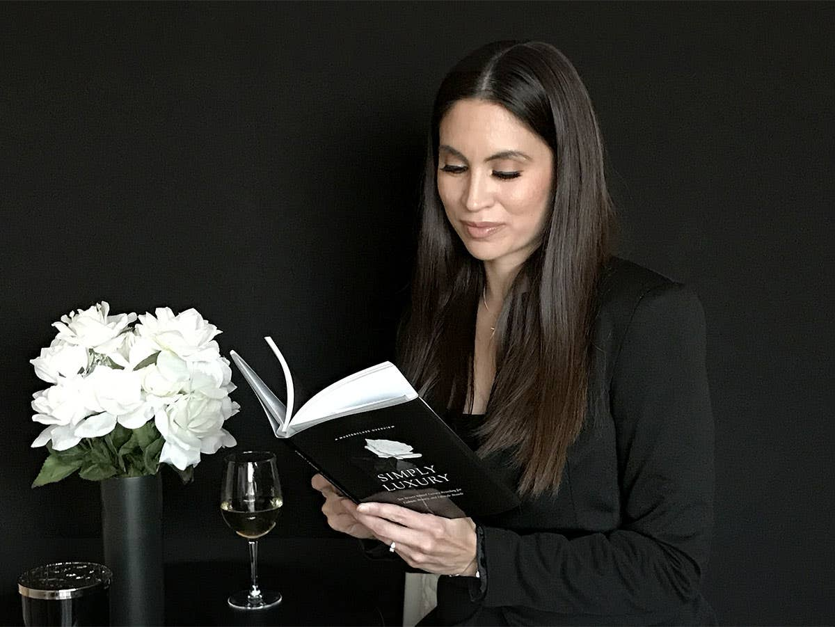 Simply Luxury Book
