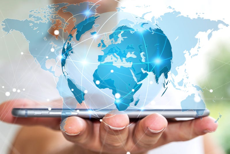 Connected world through phone