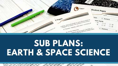 Sub Plans - Earth and Space Science