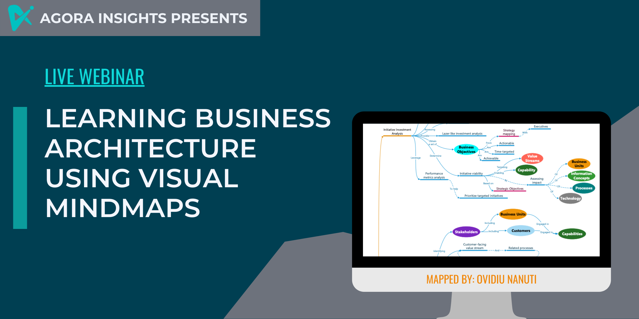 FREE WEBINAR: Learning Business Architecture using Visual Mind Maps