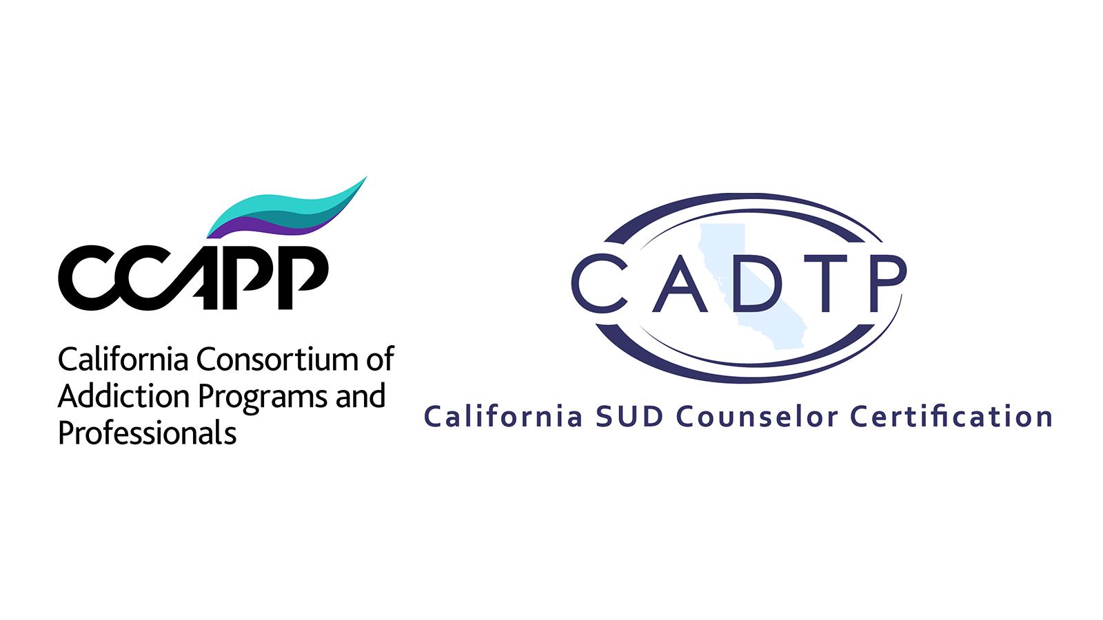 CCAPP and CADTP logos