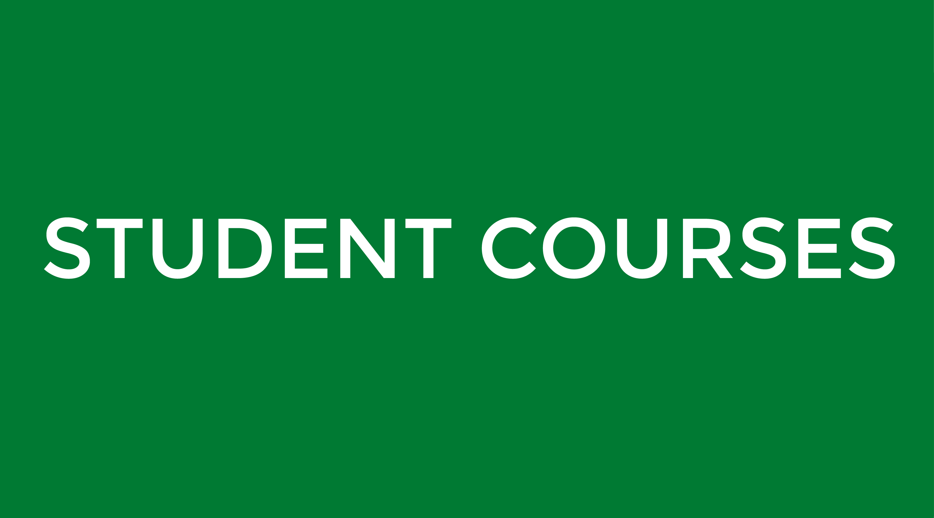 Student Courses