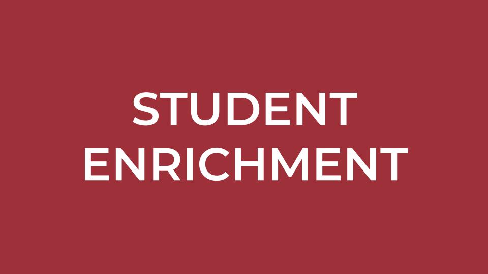 Student Enrichment