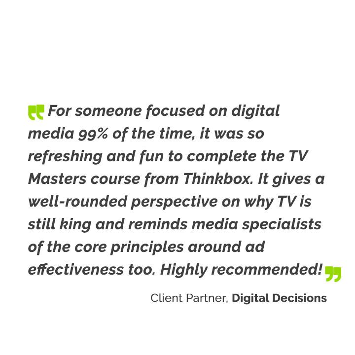 Client Partner, Digital Decisions