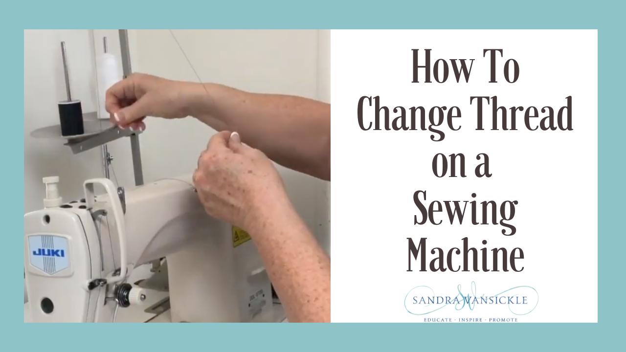 Learn how to thread an industrial machine