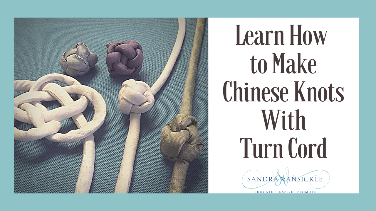 Learn how to make Chinese knots