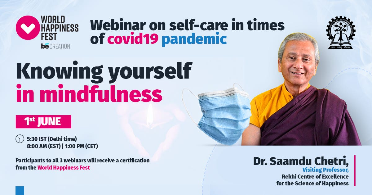 Self-Care in times of COVID19