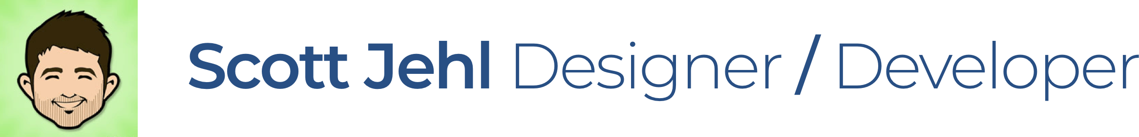 Scott Jehl: Designer/Developer