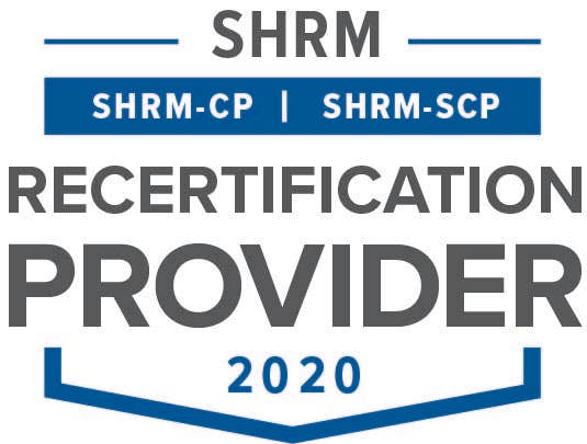 We are a PDC provider for SHRM-CP and SHRM-SCP
