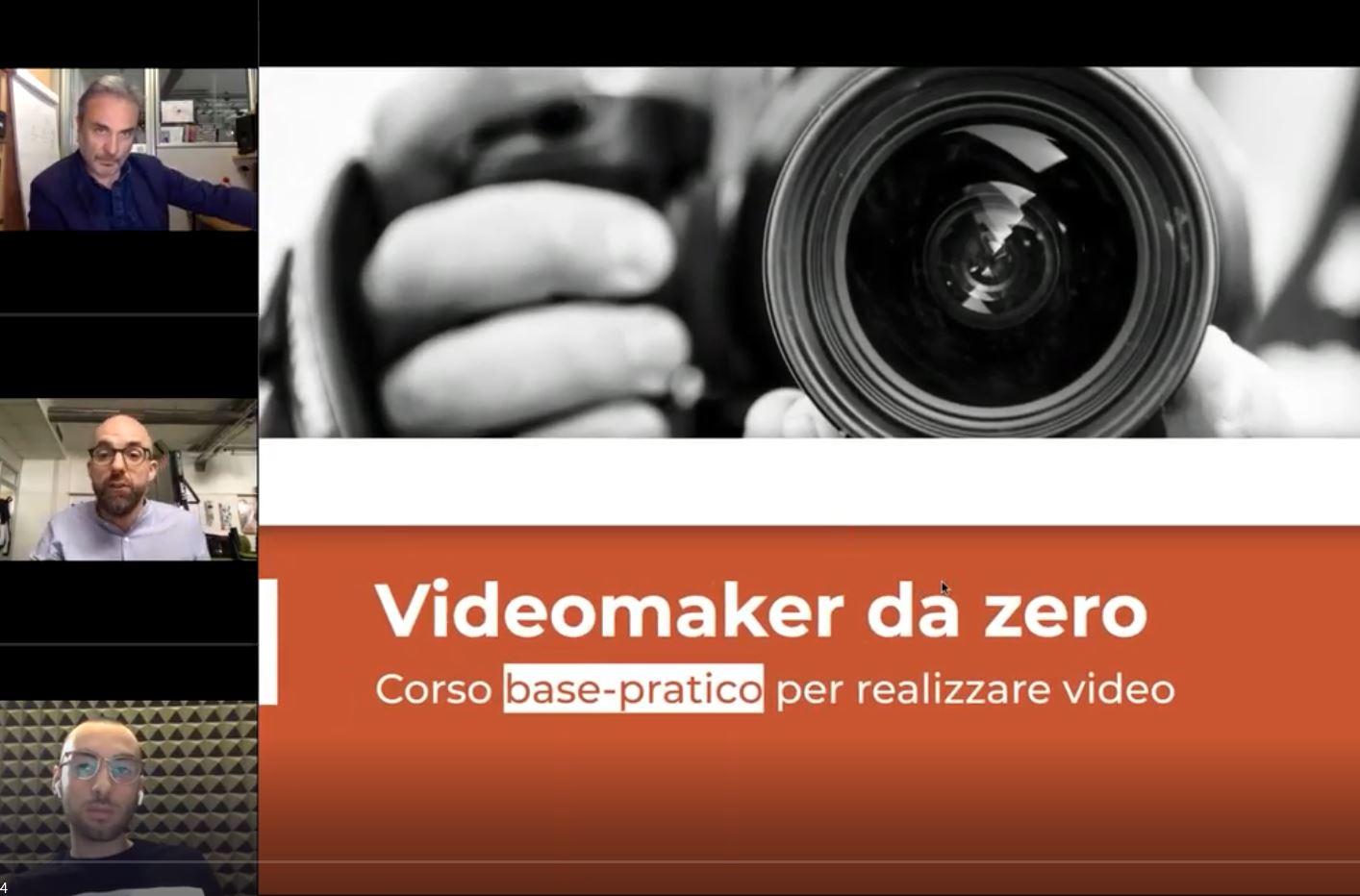 cover corso videomaker Primopiano