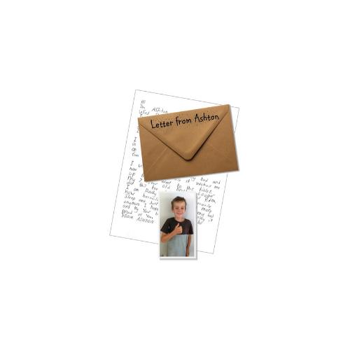 Letter from Ashton