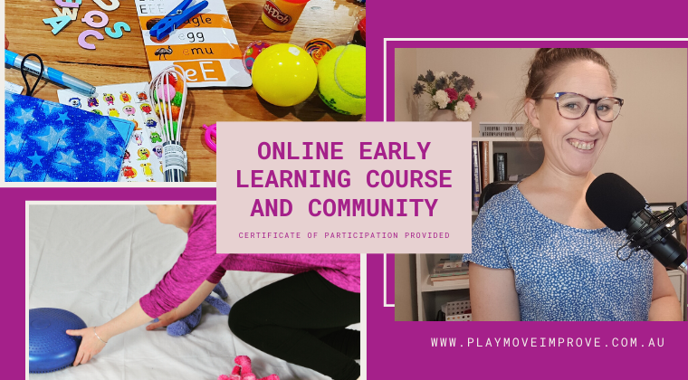 online child development and play based learning community