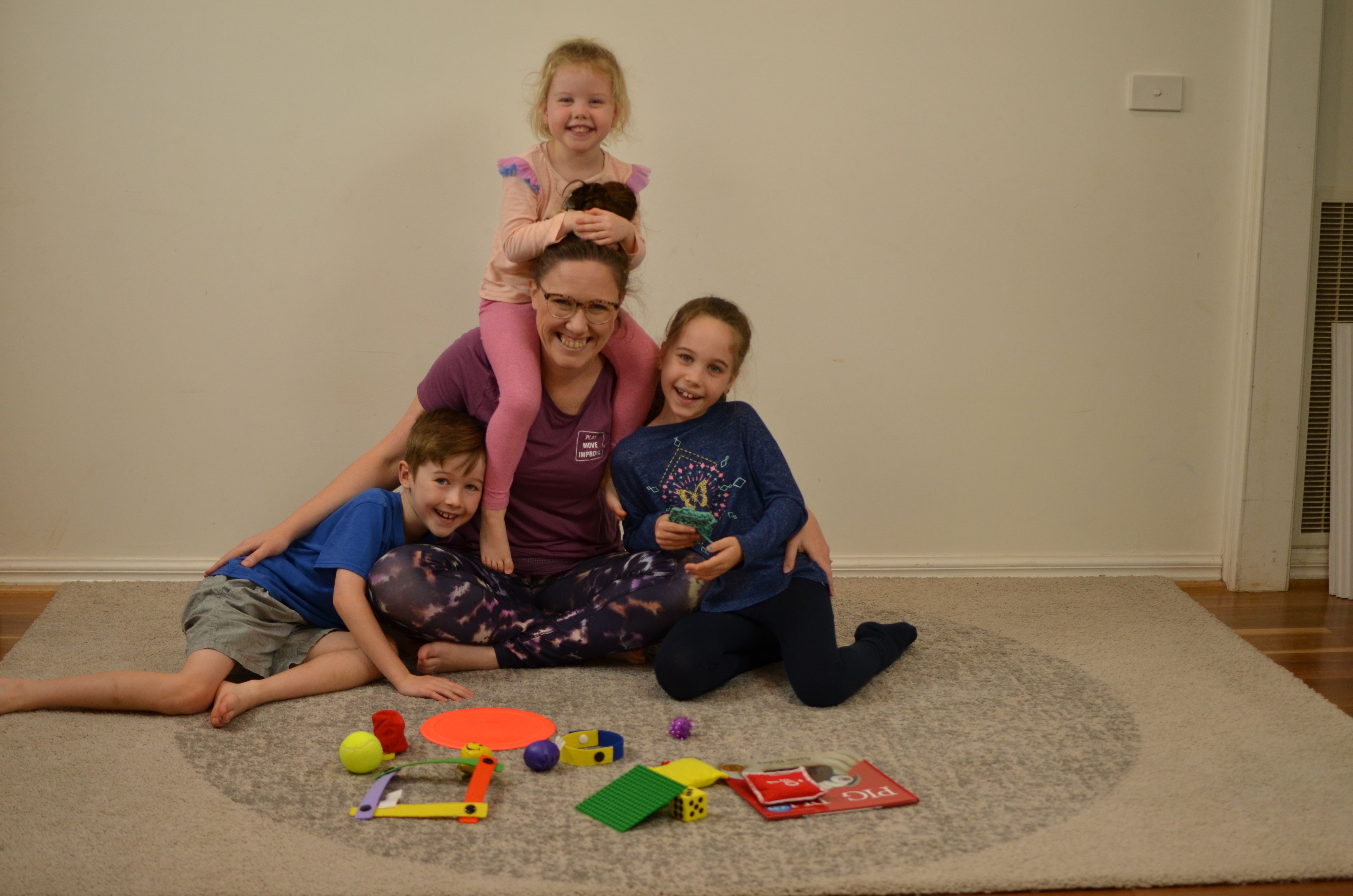 early learning movement and play online training