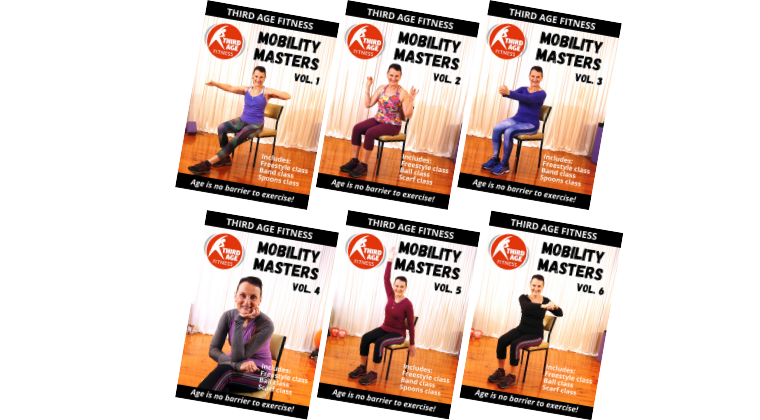 Mobility DVDs for older adults
