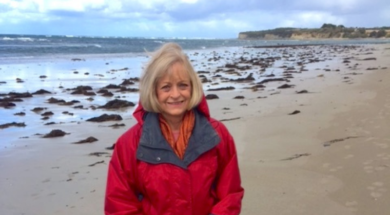 Member Profile - Ruth enjoying the beach