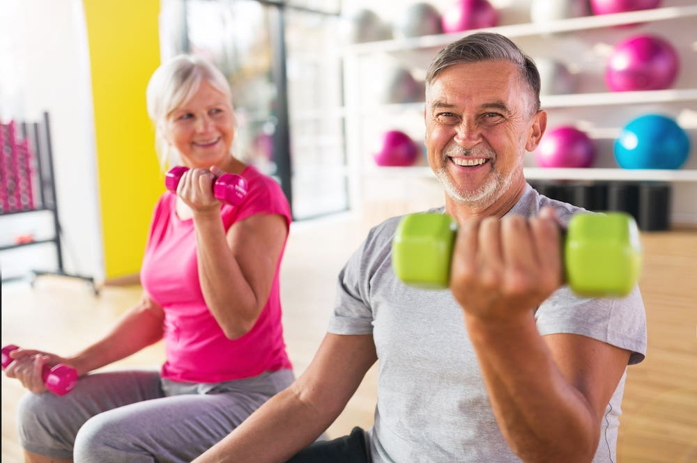Older Adults Participant Home Workouts