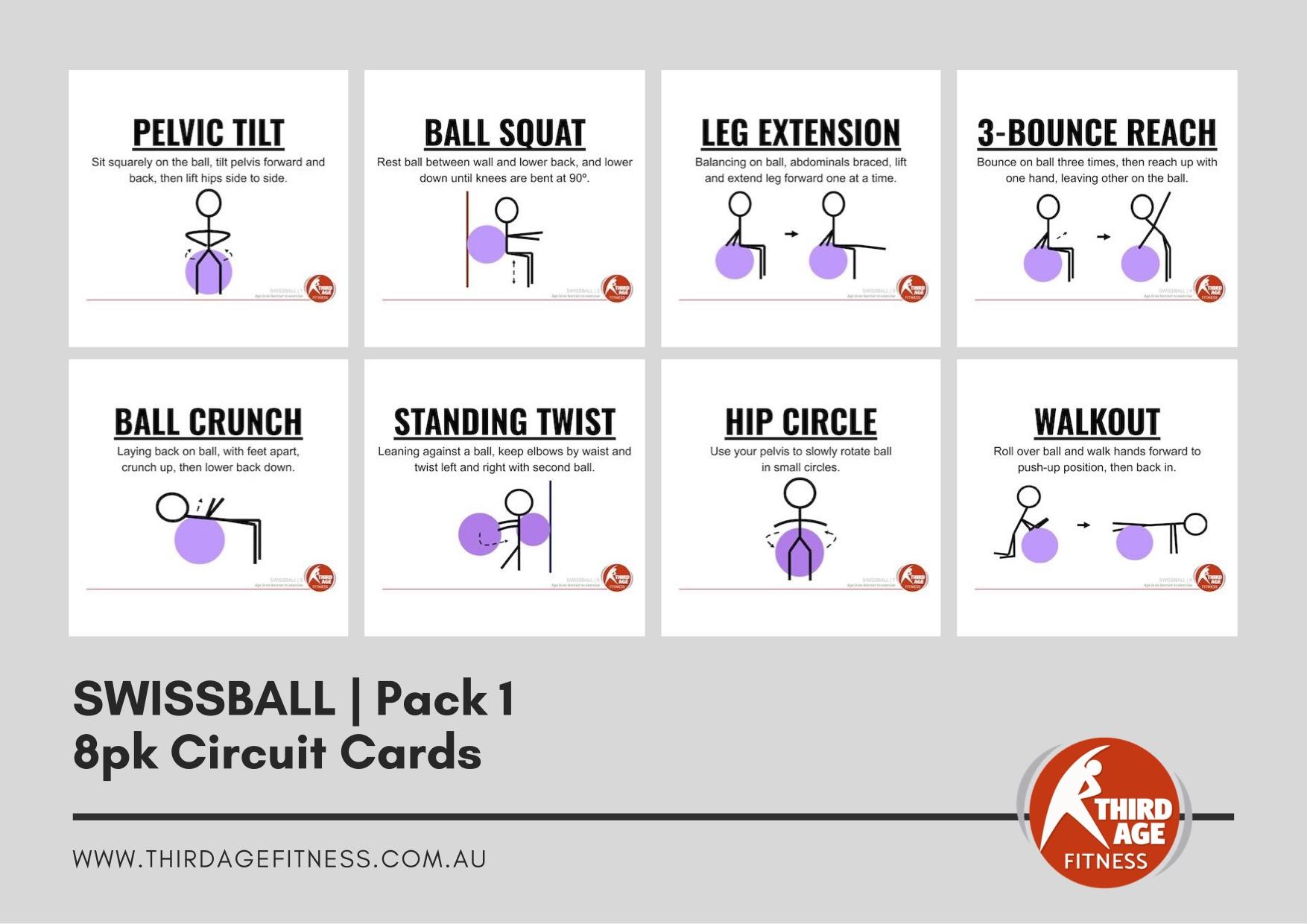 Circuit Cards - Swissball Pack 1